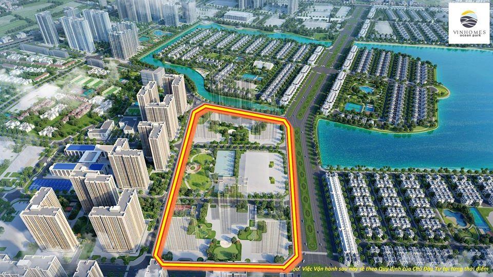 vị trí dự án masteri waterfront ocean park
