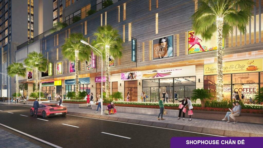 shophouse khối đế dự án the terra an hưng