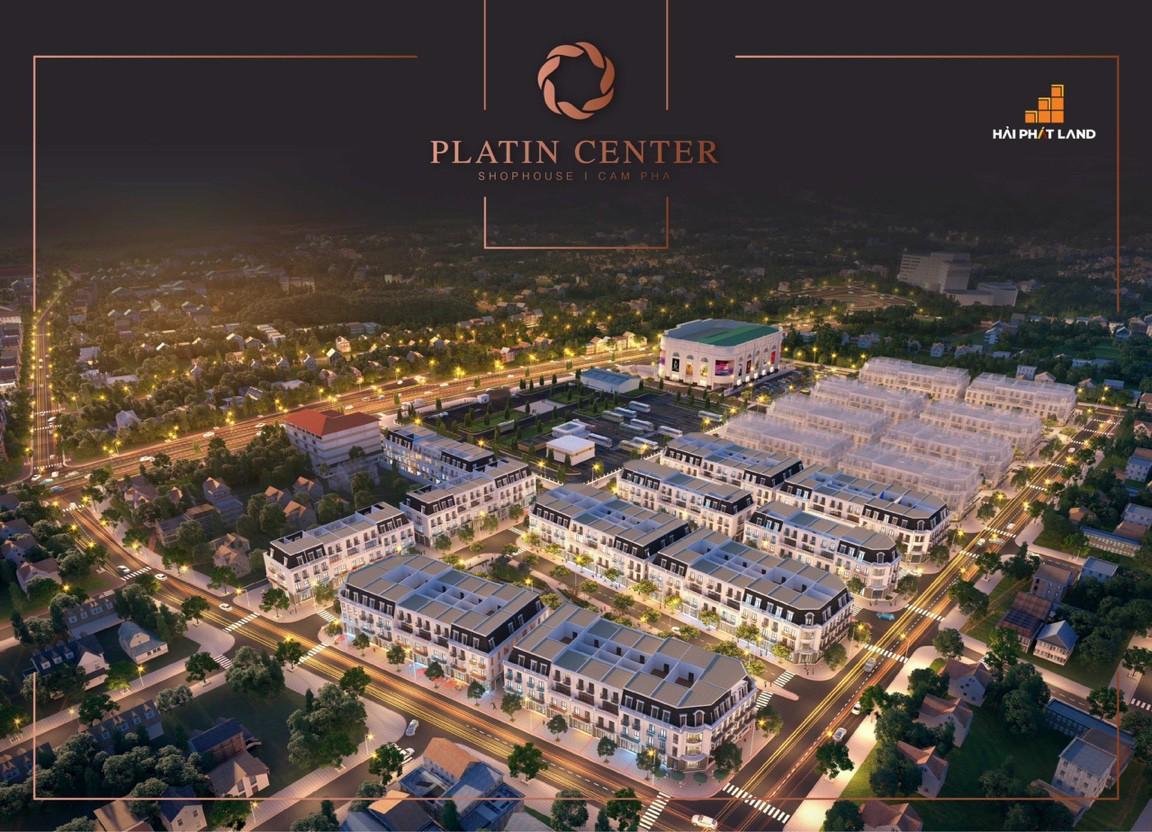 phối cảnh dự án platin center cẩm phả