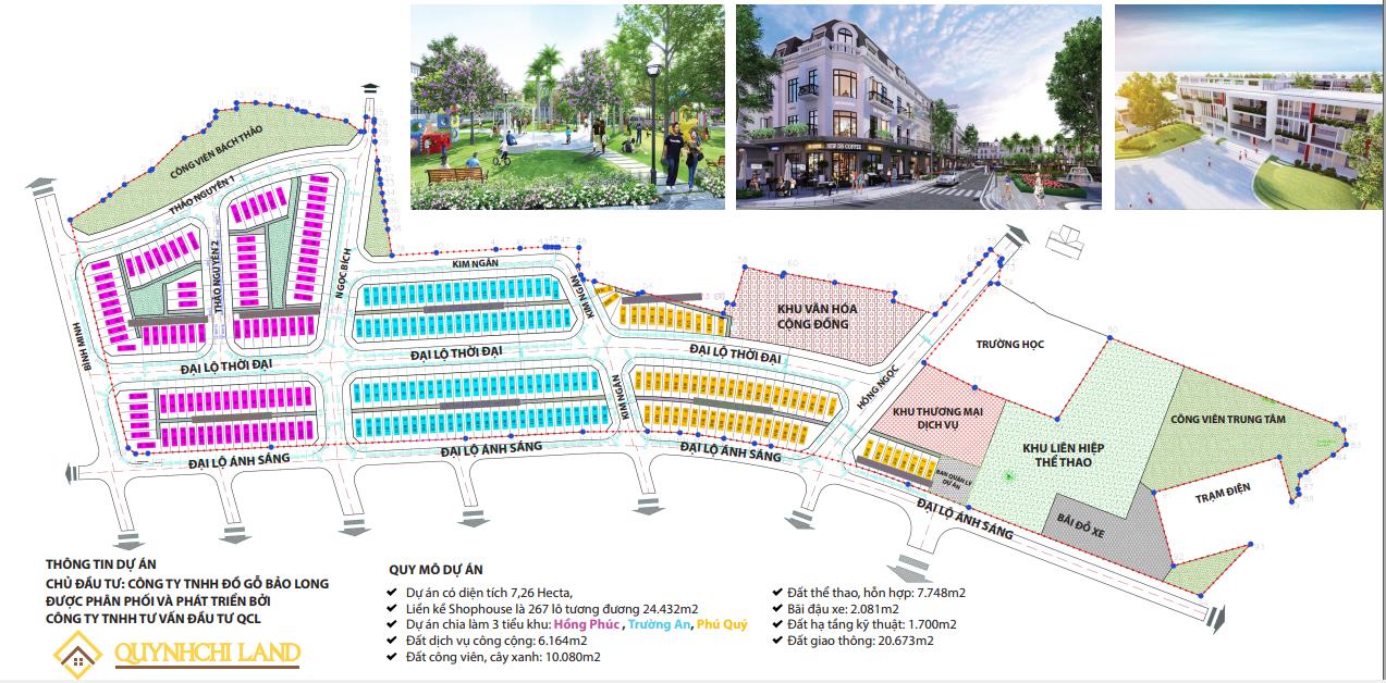 dự án bảo long new city từ sơn