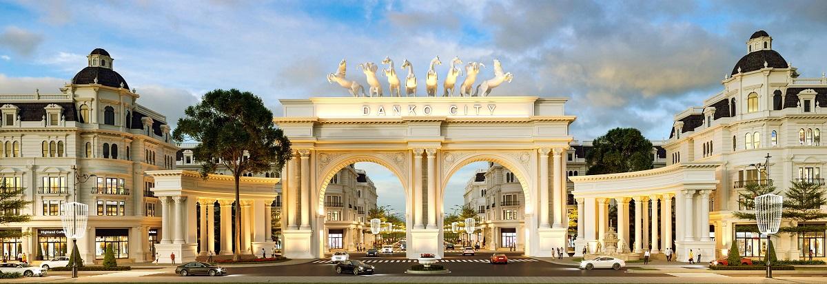 quảng trường ánh sáng danko city thái nguyên