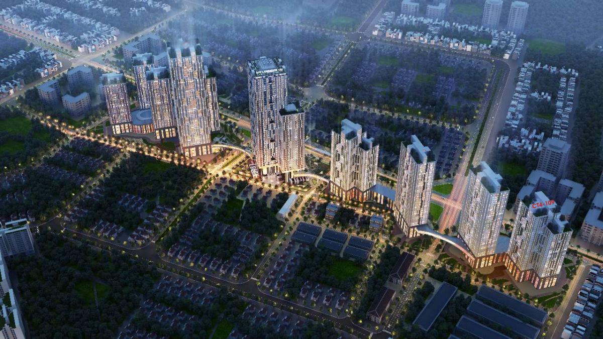 dự án goldsilk city hà đông