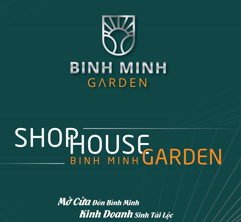 logo shophouse bình minh garden