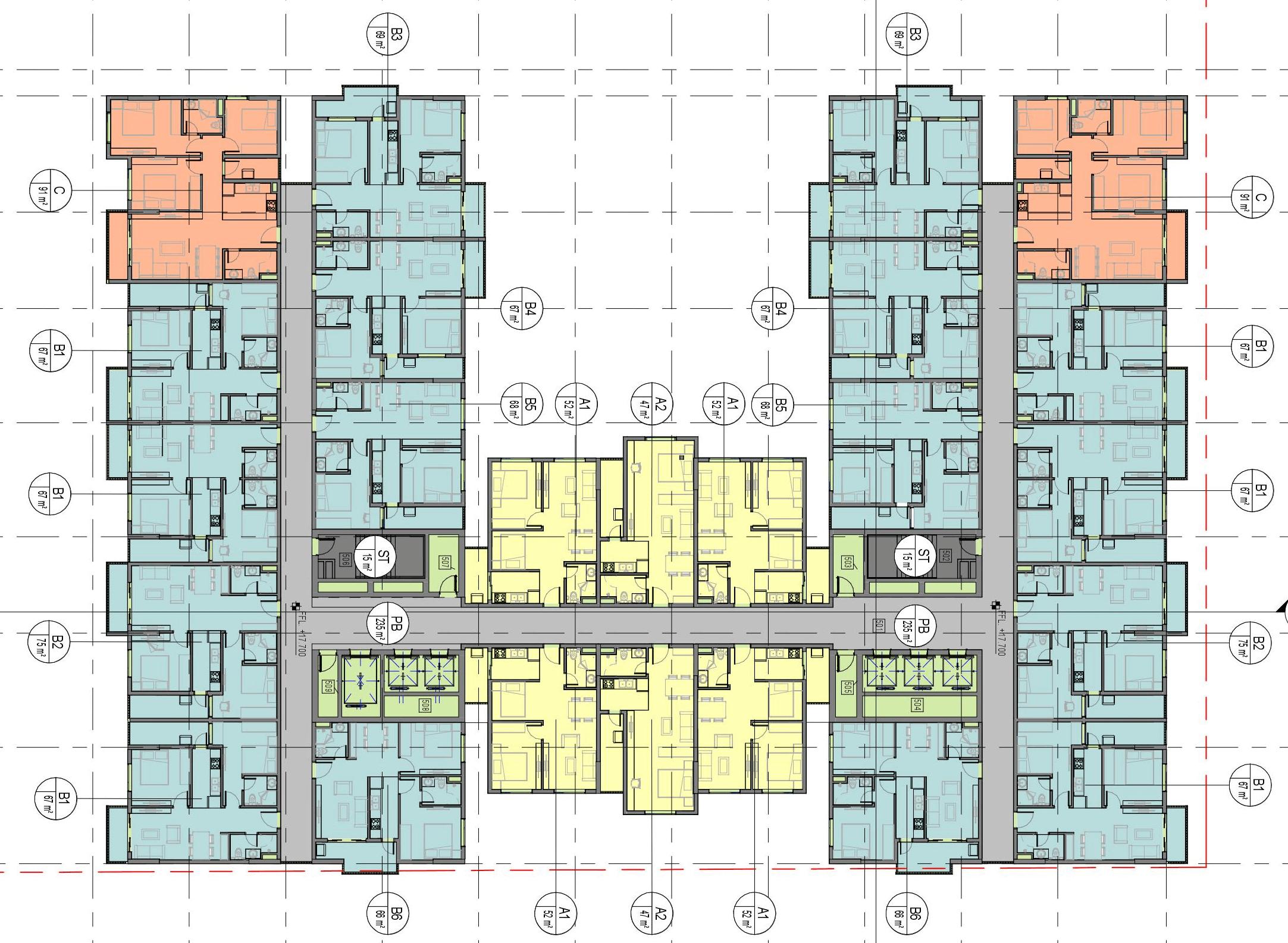 mặt bằng chung cư dabaco complex building