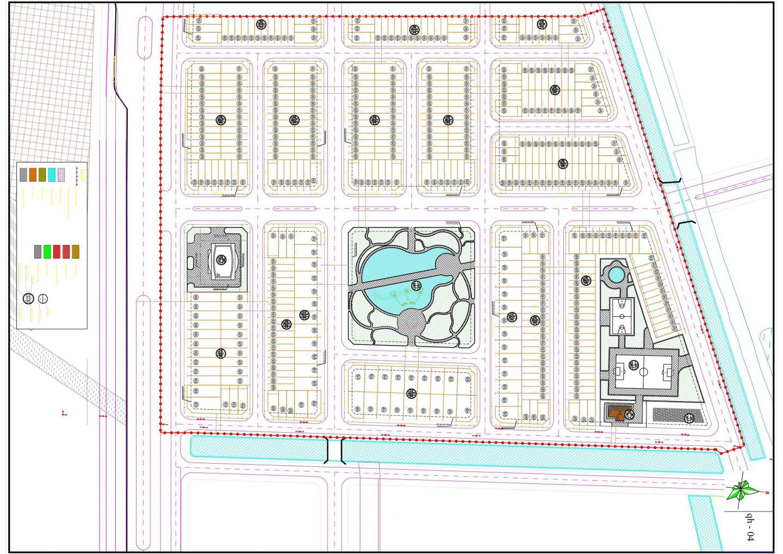 mặt bằng dự án đồng văn green park