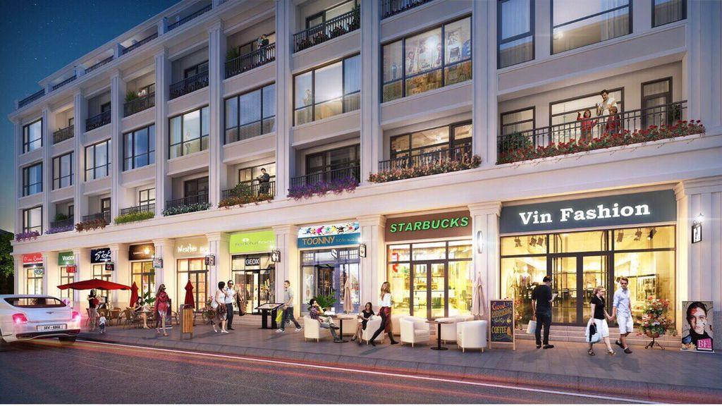 shophouse the terra an hưng