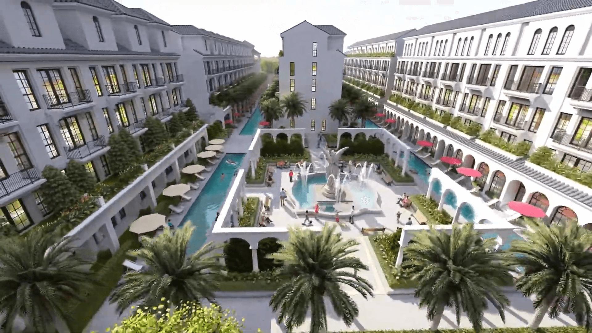 tiện ích sunshine mystery villas