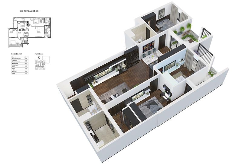 thiết kế chung cư bid residence