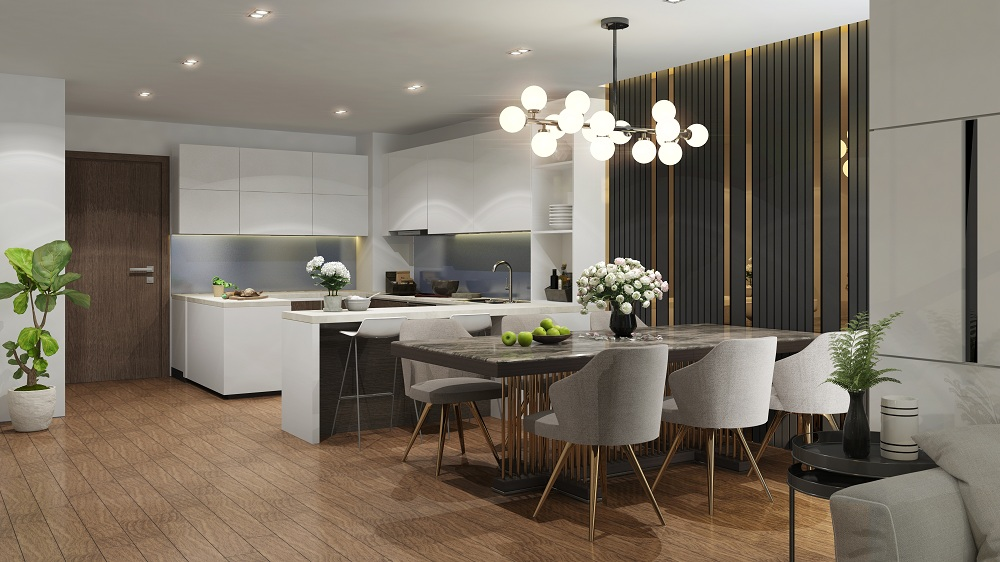 thiết kế căn hộ chung cư the terra an hưng