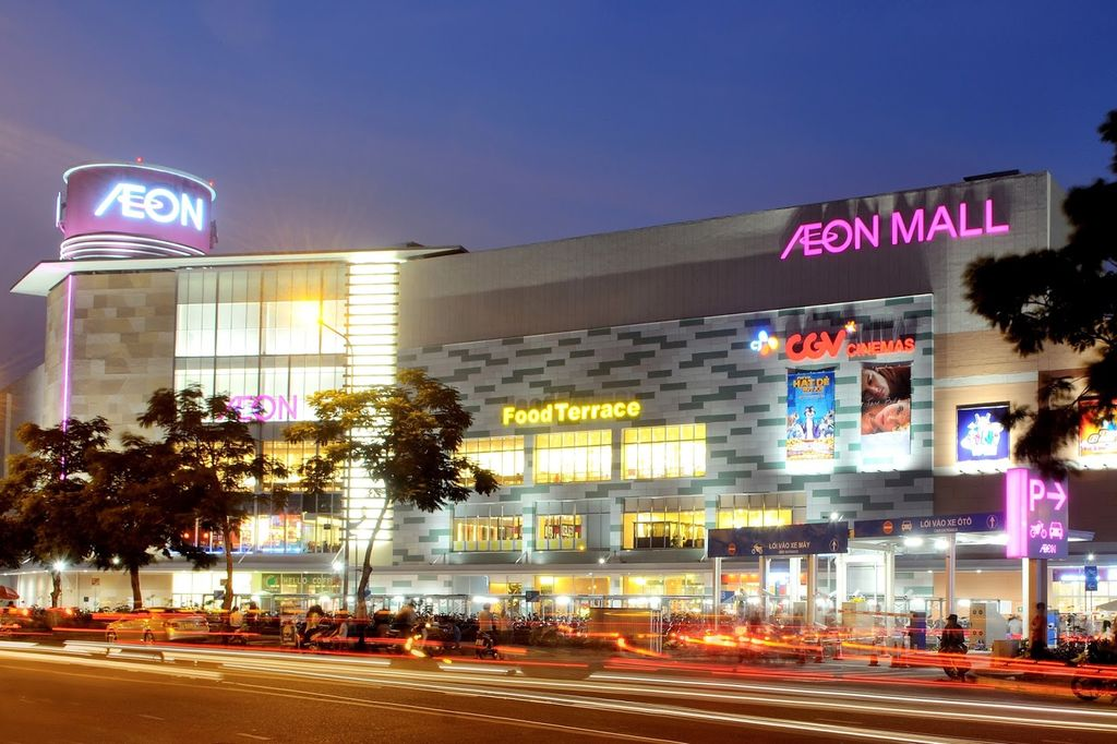 aeon mall gần the terra an hưng