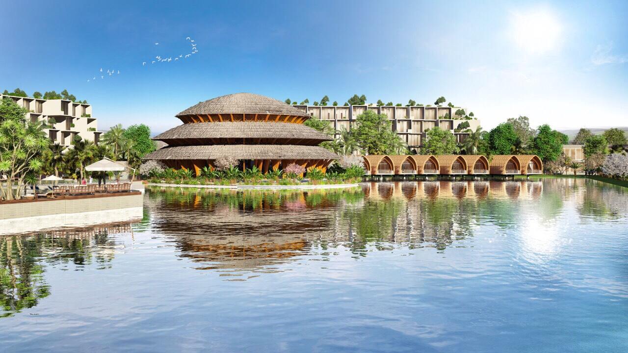 tiện ích dự án vedana resort cúc phương