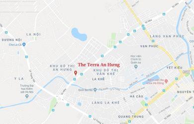 Vị trí thuận lợi của dự án The Terra An Hưng Hà Đông